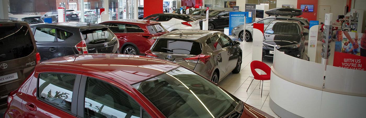 Toyota garage baert mouscron et dans le nord de la france for Rdv en ligne garage